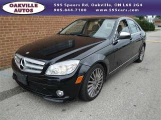Used 2009 Mercedes-Benz C-Class 2.5L for sale in Oakville, ON