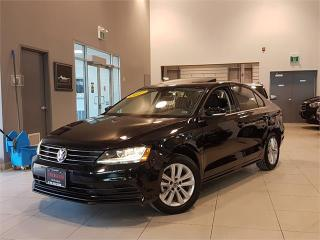 Used 2017 Volkswagen Jetta Sedan WOLFSBURG-AUTO-SUNROOF-REAR CAMERA-BLUETOOTH-ONLY for sale in York, ON