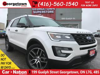 Used 2017 Ford Explorer Sport | ECOBOOST | NAVI | LEATHER | PANO ROOF | for sale in Georgetown, ON