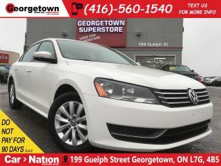 Used 2013 Volkswagen Passat 2.5L Trendline | HEATED SEATS | POWER OPTIONS for sale in Georgetown, ON