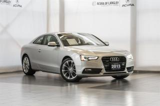Used 2013 Audi A5 2.0T Prem Plus Tip qtro Cpe for sale in Langley, BC