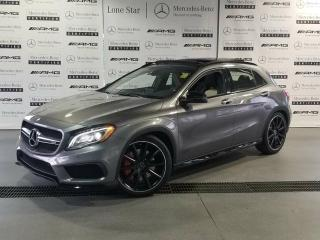 Used 2017 Mercedes-Benz GLA45 AMG 4MATIC SUV for sale in Calgary, AB