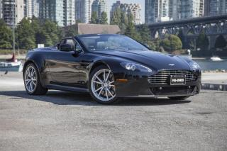Used 2012 Aston Martin V8 Vantage Roadster Sportshift for sale in Vancouver, BC