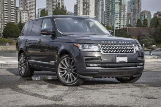 Used 2015 Land Rover Range Rover V8 Autobiography Supercharged SWB *Certified Pre-Owned! for sale in Vancouver, BC
