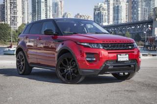 Used 2015 Land Rover Evoque Dynamic *Certified Pre-Owned! for sale in Vancouver, BC