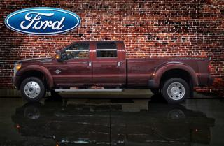 Used 2016 Ford F-450 Super Duty DRW Platinum for sale in Red Deer, AB