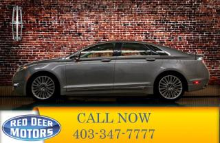 Used 2014 Lincoln MKZ AWD Luxury Edition Leather Roof Nav for sale in Red Deer, AB