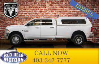 Used 2014 RAM 3500 4x4 Crew Cab SLT Dually Diesel 6 Speed for sale in Red Deer, AB