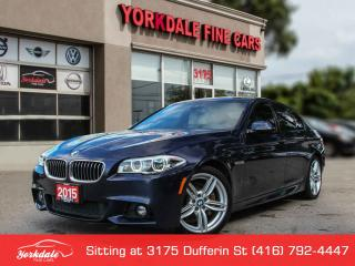 Used 2015 BMW 535 I xDrive M Sport. Navigation. 360 Camera. Head up diplay. Lane Assist for sale in Toronto, ON