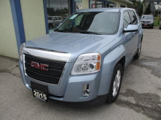 Used 2015 GMC Terrain 'GREAT KM'S' SLE-1 MODEL 5 PASSENGER 2.4L - ECO-TEC.. AWD.. ECON-PACKAGE.. CD/AUX/USB INPUT.. BACK-UP CAMERA.. for sale in Bradford, ON