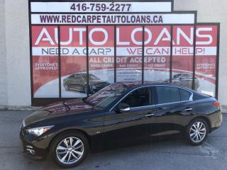 Used 2014 Infiniti Q50 Premium Q50-ALL CREDIT ACCEPTED for sale in Scarborough, ON