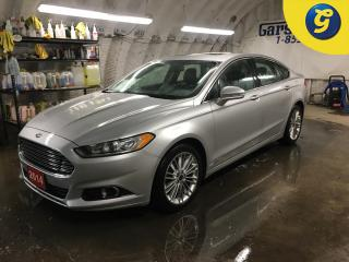 Used 2014 Ford Fusion AWD*LEATHER*SUNROOF*HEATED STEERING WHEEL*NAVIGATION*BACK UP CAMERA*BLIND SPOT ASSIST*360 VIEW*VOICE RECOGNITION*HAND FREE CONTROL*FRONT HEATED SEATS* for sale in Cambridge, ON