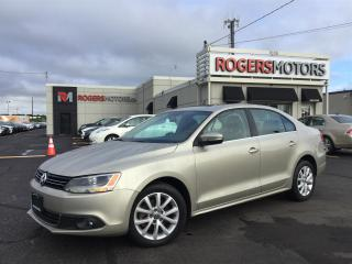 Used 2013 Volkswagen Jetta TDI - LEATHER - SUNROOF - HIGHLINE for sale in Oakville, ON