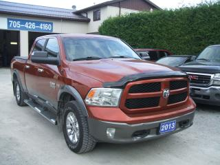 Used 2013 Dodge Ram 1500 Outdoorsman, 4Dr. Crew, 4X4 for sale in Beaverton, ON