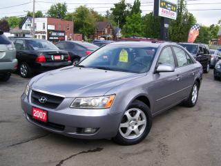 Used 2007 Hyundai Sonata GLS,Sunroof,Alloys,Key less for sale in Kitchener, ON