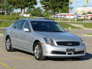 Used 2006 Infiniti G35X Luxury for sale in Mississauga, ON