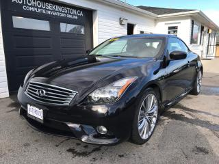 Used 2011 Infiniti G37 S for sale in Kingston, ON