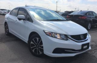 Used 2014 Honda Civic EX | AUTO | P.SUNROOF | BACK UP AND BLIND SPOT CAM for sale in Kitchener, ON