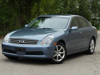 Used 2005 Infiniti G35 Luxury for sale in Mississauga, ON