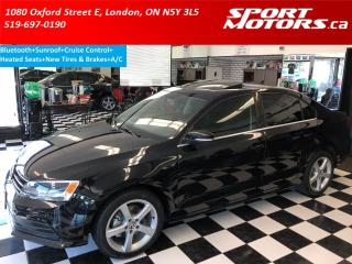 Used 2015 Volkswagen Jetta Bluetooth+Cruise+Sunroof+New Tires & Brakes+A/C for sale in London, ON
