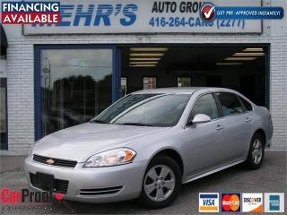 Used 2011 Chevrolet Impala LT Loaded No Accident All Orig. Low Mileag for sale in Scarborough, ON
