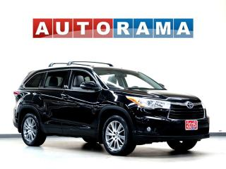 Used 2015 Toyota Highlander Hybrid HYBRID XLE NAVI 4WD LEATHER SUNROOF for sale in Toronto, ON