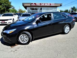 Used 2016 Toyota Camry 2016 TOYOTA CAMRY LE|REARVIEW|BLK ON BLK|88K for sale in Mississauga, ON