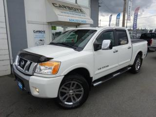 Used 2012 Nissan Titan SL 4x4 Crew Cab, Leather, Sunroof, Immaculate!! for sale in Langley, BC