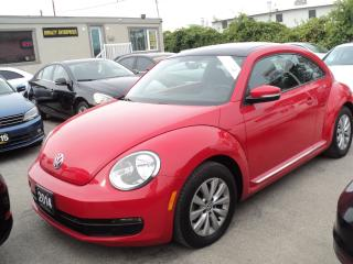 Used 2014 Volkswagen Beetle PANORAMIC SUN ROOF for sale in Oakville, ON