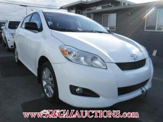 Used 2010 Toyota Matrix 4D Hatchback for sale in Calgary, AB