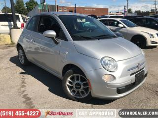 Used 2012 Fiat 500 Pop | ECONOMIC & RELIABLE for sale in London, ON
