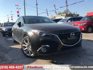 Used 2015 Mazda MAZDA3 GT | ROOF | CAM | HEATED SEATS for sale in London, ON