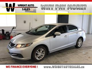 Used 2014 Honda Civic LX|HEATED SEATS|BLUETOOTH|116,142 KM for sale in Cambridge, ON