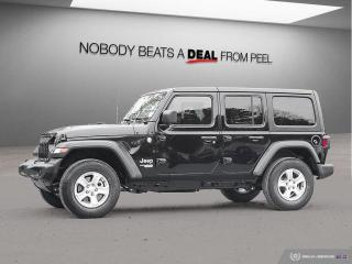 New 2020 Jeep Wrangler UNLIMITED SPORT for sale in Mississauga, ON