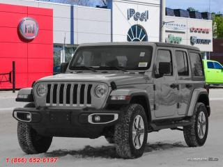 New 2018 Jeep Wrangler Unlimited Sahara for sale in Mississauga, ON