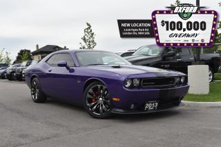 "Used 2013 Dodge Challenger SRT8 -  1 owner, came from mopar collector, ""like for sale in London, ON"