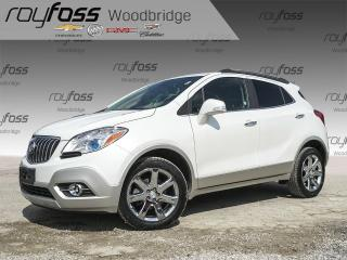 Used 2016 Buick Encore Leather, Nav, Backup Cam, Sunroof for sale in Woodbridge, ON