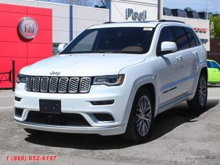 New 2018 Jeep Grand Cherokee Summit for sale in Mississauga, ON