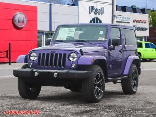 New 2018 Jeep Wrangler JK Sahara for sale in Mississauga, ON