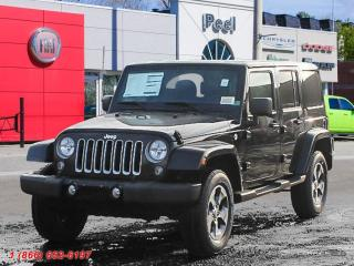 New 2018 Jeep Wrangler JK Unlimited Sahara for sale in Mississauga, ON