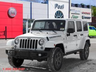 New 2018 Jeep Wrangler JK Unlimited Golden Eagle for sale in Mississauga, ON