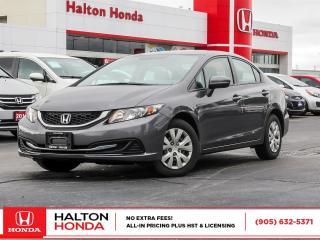 Used 2015 Honda Civic LX for sale in Burlington, ON