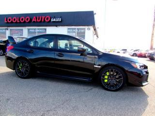 Used 2019 Subaru Impreza WRX STi STI SPORT-TECH PACKAGE NAVIGATION CAMERA CERTIFIED WARRANTY for sale in Milton, ON