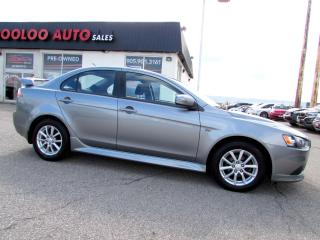 Used 2015 Mitsubishi Lancer LIMITED EDITION AUTOMATIC BLUETOOTH CERTIFIED WARRANTY for sale in Milton, ON