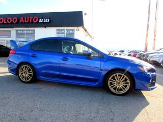 Used 2017 Subaru Impreza WRX STi STI SPORT TECH NAVIGATION CAMERA CERTIFIED WARRANT for sale in Milton, ON
