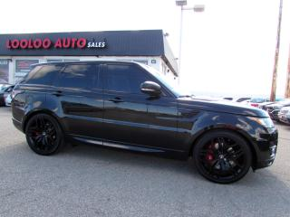 Used 2017 Land Rover Range Rover Sport 5.0L V8 Supercharged Autobiography 510hp Certified Warranty for sale in Milton, ON