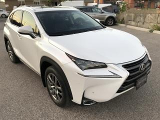 Used 2015 Lexus NX 200t AWD I NAVIGATION I NO ACCIDENT for sale in Toronto, ON