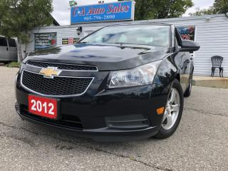 Used 2012 Chevrolet Cruze 4dr Sdn LT Turbo+ w/1SB non accident low payments for sale in Brampton, ON
