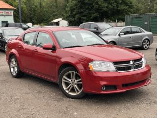 Used 2013 Dodge Avenger No-Accidents SXT Power Group 4-Cyl 2.4 for sale in Holland Landing, ON