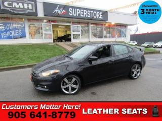 Used 2014 Dodge Dart GT  MANUAL LEATHER U-CONNECT SPOILER POWER GROUP for sale in St. Catharines, ON